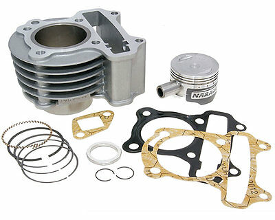 Kymco Yager GT 50 72cc Big Bore Cylinder Piston Gasket Kit