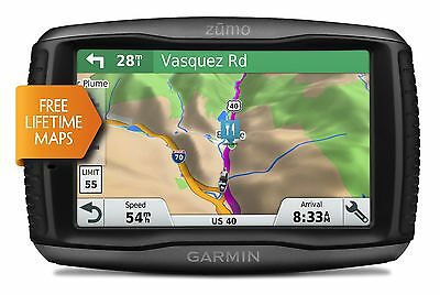 Garmin 595 Lm Motorcycle Bike Sat Nav Gps / Uk Europe Free Lifetime Maps