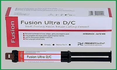 Dual-Cure Automix Dental Luting Cement 1 Syringe Kit