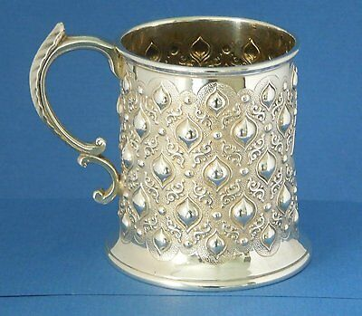 Rare Sterling Silver Mug.  Robert Hennell III.  London 1864