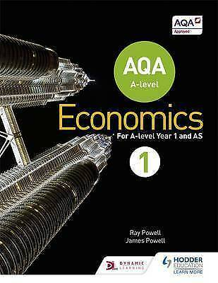 AQA A-Level Economics: Book 1 by James Powell, Ray Powell (Paperback, 2015)