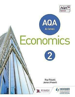 AQA A-Level Economics: Book 2 by James Powell, Ray Powell (Paperback, 2016)