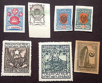 Russian ,and satellite state, stamps various years