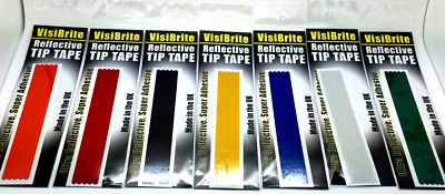 VisiBrite Super Adhesive Reflective Tip Tape For Fishing