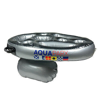 Aquaparx Floating Inflatable Spa Bar for Drinks & Snacks Hot Tub Jacuzzi Pool