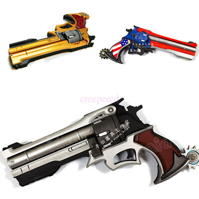Overwatch OW Revolving Pistol Jesse·Mccree Cosplay Gun Weapon 35cm PVC IN STOCK
