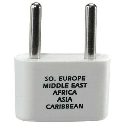 Conair Adapter Plug for Europe Middle East and Parts of Africa and Caribbean