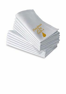 Personalised Christmas Napkins