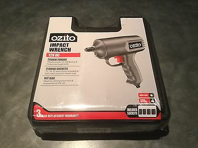 Ozito 12 Volt DC Corded Impact Wrench 4x4 4wd