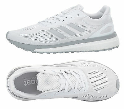 7233d469cec Women Adidas Sonic Drive Running Shoes White Sneakers Adidas Boost BA7784  NEW