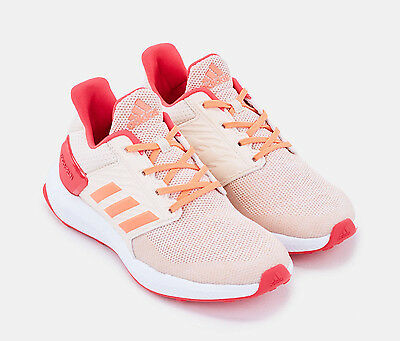 Girls Shoes Pink Adidas RAPIDARUN RUNNING SHOES Youth Sneakers NEW