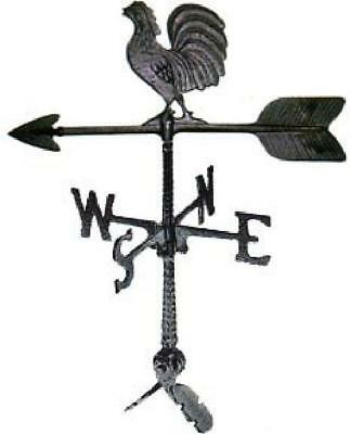 Weathervane Roof Mount Rooster Outdoor Wind Weather Direction Vane Chicken Farm