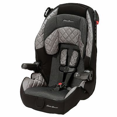 Brand New - Eddie Bauer Deluxe Harness Booster Car Seat High-Back Booster
