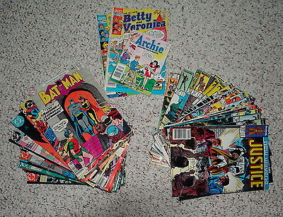Lot of 40 vintage comics Archie DC Marvel