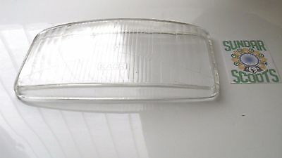 Headlight Glass Lens For Vespa Ts Scooters.....thick Glass ...good Quality Part