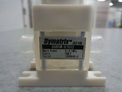 Asahi Dymatrix DANVM-07012, PTFE 1/4 Panel Mount Needle Valve