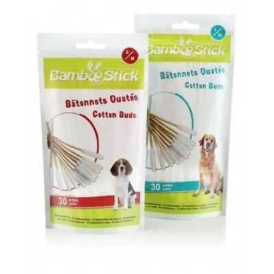 BambooStick Cotton Buds for Dogs