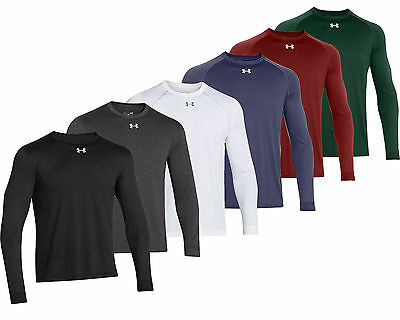 Men's Under Armour Team Locker Tee Long Sleeve Relaxed Fit 1268475 New