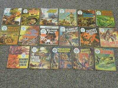 Collection Of 17 War Picture Library Comic Magazines 296 Upto 847