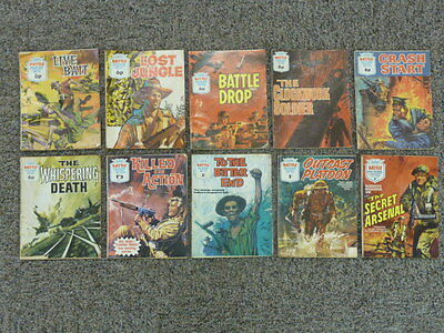 Collection Of 10 Battle Picture Library War Comic Magazine from 355-720