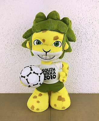 Peluche FIFA South Africa 2010 Football Soccer Plush Toy mascotte  25 cm ZAKUMI