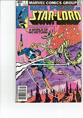 Marvel Spotlight on STAR-LORD #7 (1980) 2nd Appearance Guardians of the Galaxy