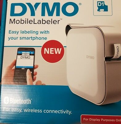 DYMO Mobile Labeler Label Maker with Bluetooth Smartphone Connectivity (1982171)
