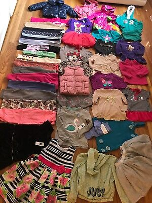 Gap   LOT 42 Pieces Clothing Girl 4  YEARS