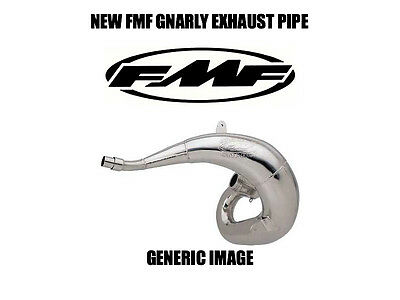 New Thick Fmf Gnarly Pipe Exhaust Chamber 1988-1991 Honda Cr250R Cr250 Cr 250R