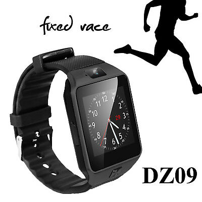 DZ09 Black Android Bluetooth Sports Smart Watch Phone Mate for iPhone Camera GSM