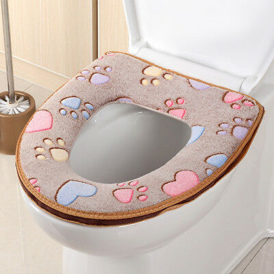 Washable Hot Sell Bathroom Toilet Warmer Toilet Seat Cover Mat Closestool