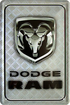 Dodge RAM US Car Auto Amerika USA 20x30 cm Blechschild 836
