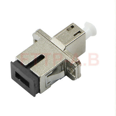 1 pcs Carrier-class LC-SC switching Adapter Flange SC-LC Fiber Optic Connector