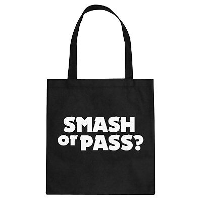 Tote Smash or Pass? Cotton Canvas Tote Bag #3206