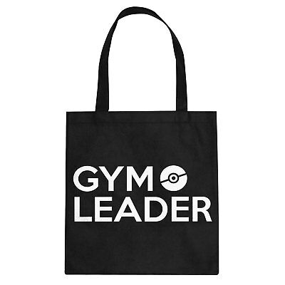Tote Gym Leader Cotton Canvas Tote Bag #3098