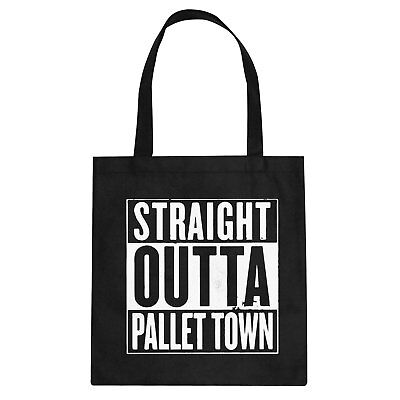 Tote Straight Outta Pallet Town Cotton Canvas Tote Bag #3104
