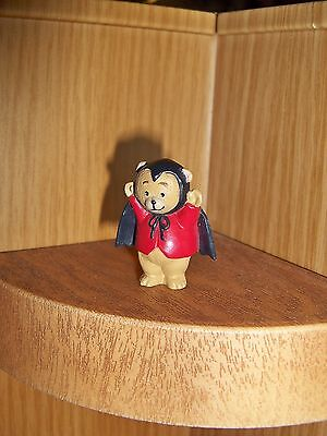 HALLMARK Halloween Merry Miniature 1993 Bear Bat