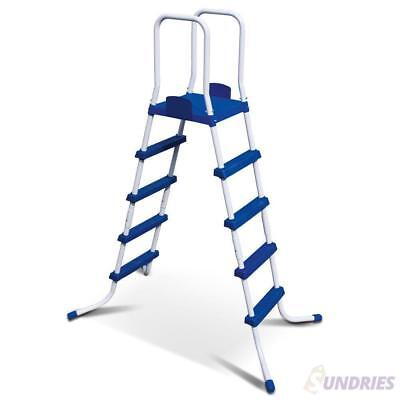 Bestway Ladder Above Ground Swimming Pool 195cm Removable Steps Blue White