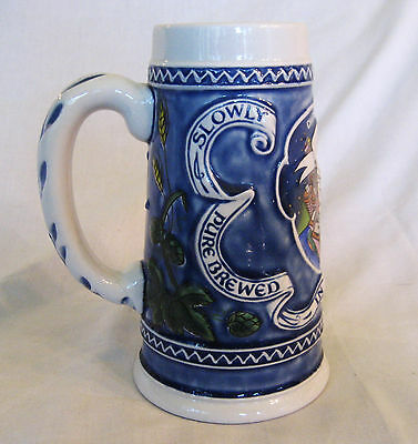 1982 Old Style Stein Chicagoland You've Got Style- Slowly Brewed In Gods Country