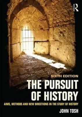 NEW The Pursuit of History By John Tosh Paperback Free Shipping