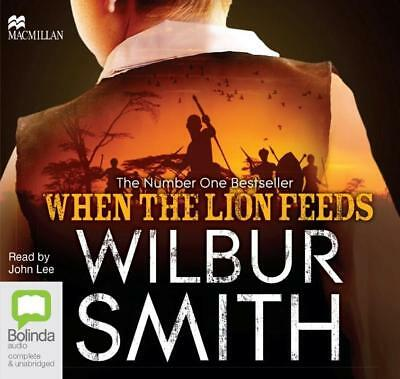 NEW When the Lion Feeds By Wilbur Smith Audio CD Free Shipping