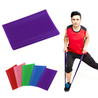 Colours GYM Exercise Pilates Yoga Dyna Fitness Aerobics Stretch Resistance Bands