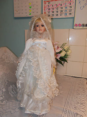 Homeart 16 Inch Porcelain Doll Clare.