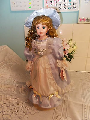 Homeart 16 Inch Porcelain Doll Emily.