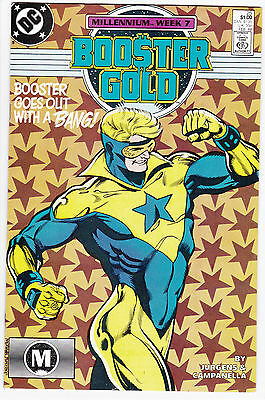 Booster Gold #25 Copper Age Series Final Issue -- Millenium Tie-In