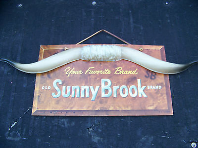 Sunny Brook Advertising Sign from a liquor store in downtown Monterey California