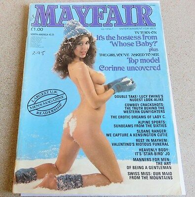 1984 Mayfair Men's Magazine - Vol.19 No.1 - January Issue