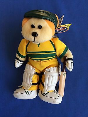 "Skansen Beanie Kids  "" HOWZAT the CRICKET Bear  """