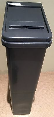 Slim-Line Lady Bin Sanitary Disposal Unit 22L Grey