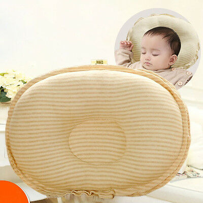 Newborn Baby Infant Pillow Memory Foam Positioner Prevent Flat Head Anti Roll YU